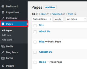 Click Pages
