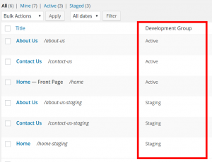active-staging-development-group