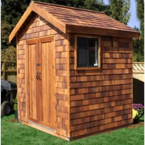 Cedar_storage_shed_wood