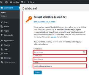 requesting-a-boldgrid-connect-key