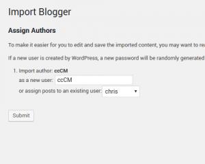Blogger file