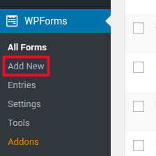 how to create a custom form on wix