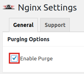 Enabling Purge in NGINX Helper