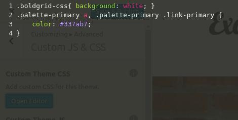CSS Editor paste code