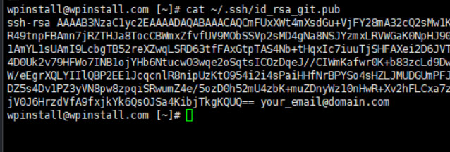 Plesk Add Ssh Key