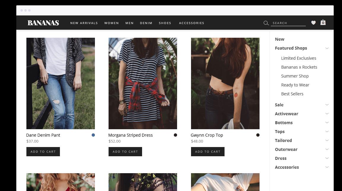 BoldGrid WooCommerce eCommerce Websites