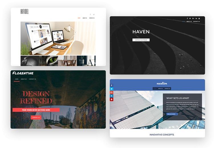 Designer Portfolio Themes