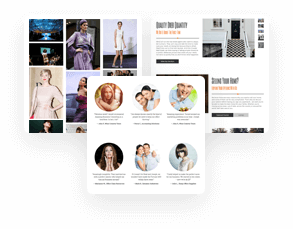 BoldGrid WordPress Page Templates