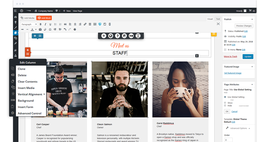 WordPress Page Builder | BoldGrid