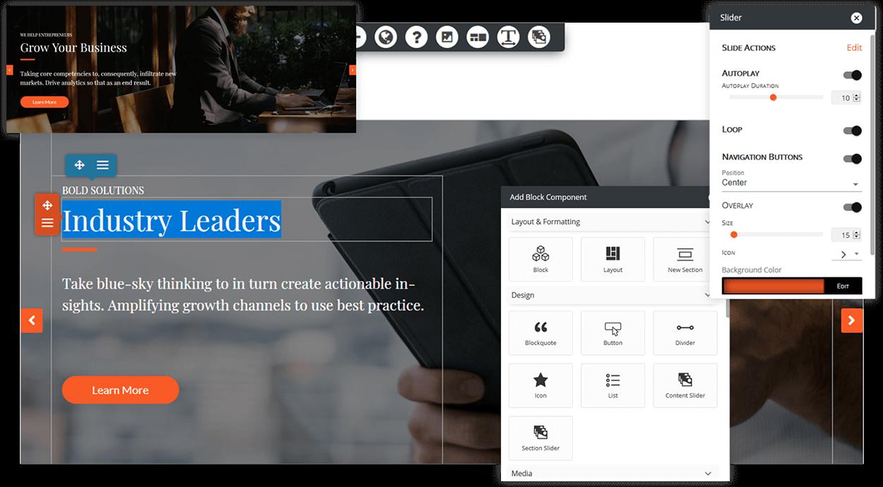 WordPress Page Builder   BoldGrid