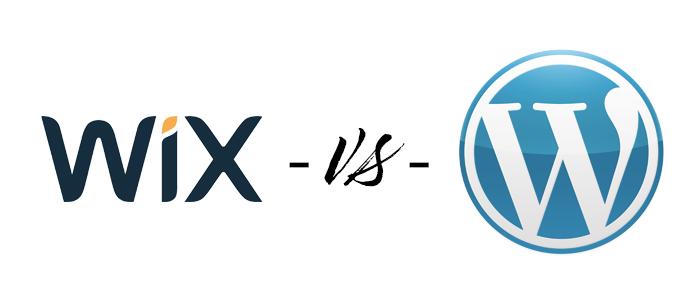 Wix vs WordPress comparison