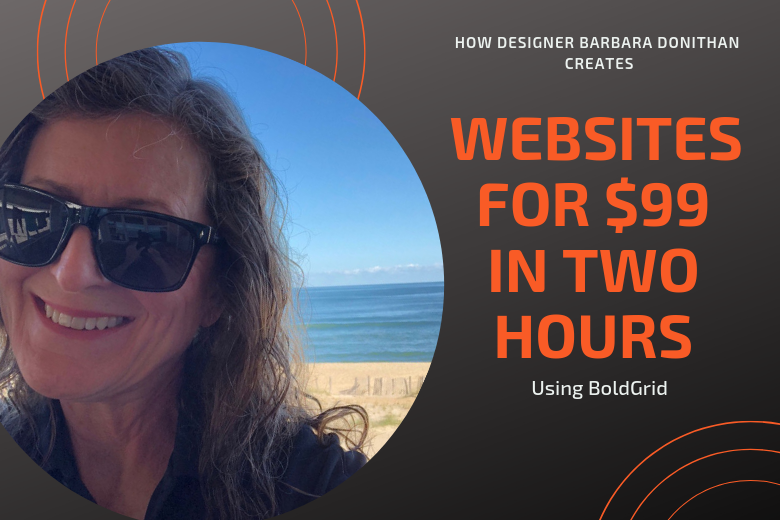 Pro Designer Barbara Donithan Creates a Website in 2 Hours with BoldGrid