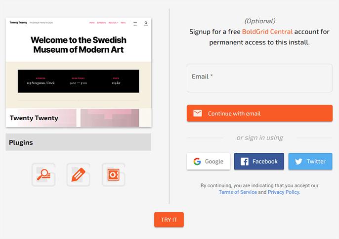 Demo WordPress Themes