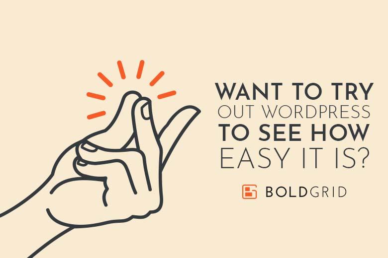 What to Try WordPress? | BoldGrid
