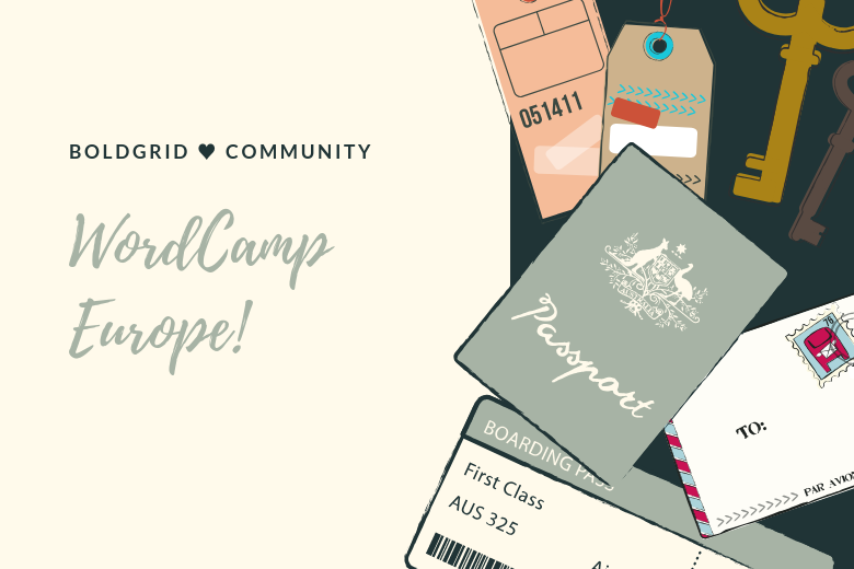BoldGrid ♥ Community at WordCamp Europe
