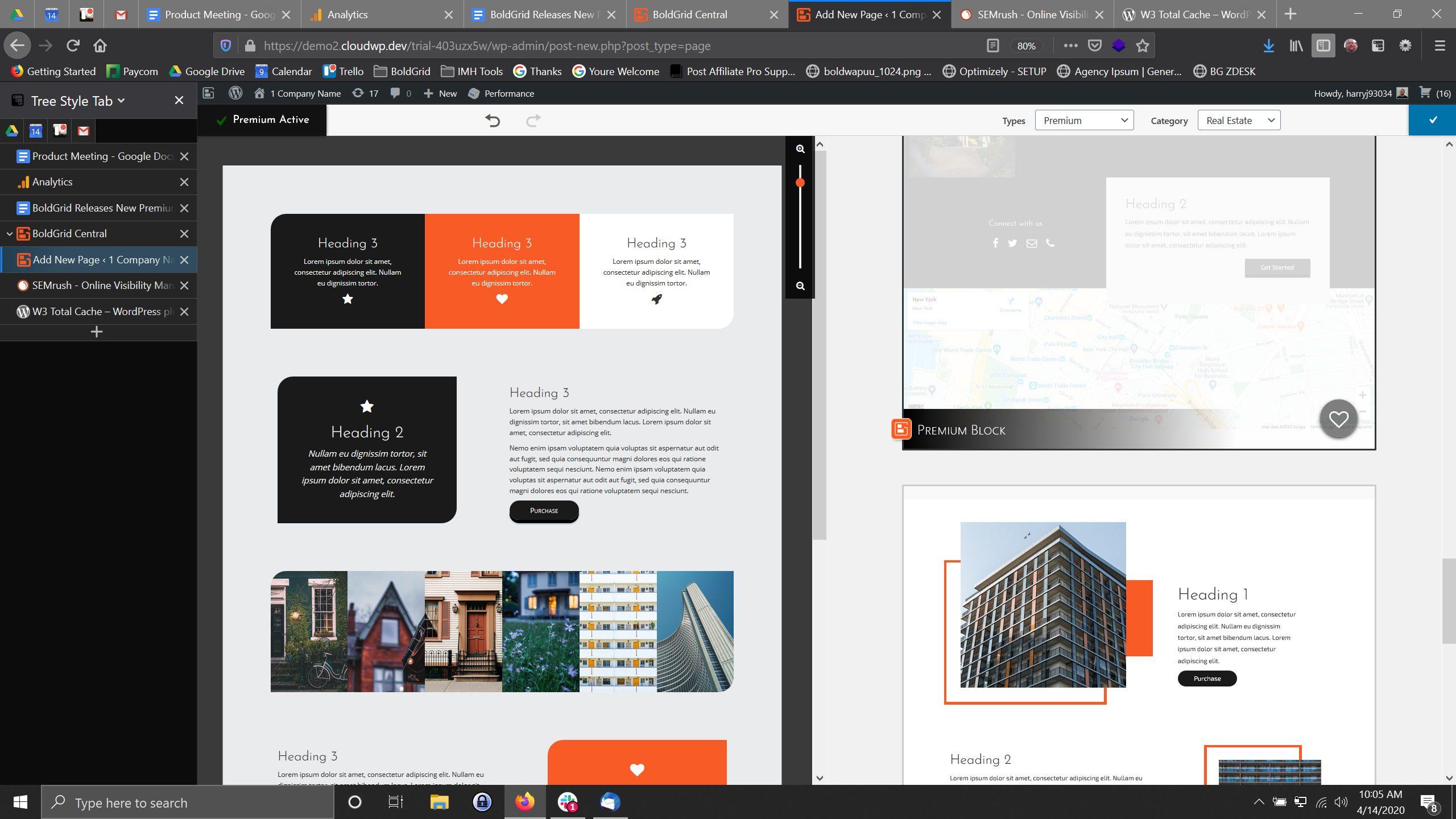 Adding Premium WordPress Blocks using the Post and Page Builder plugin