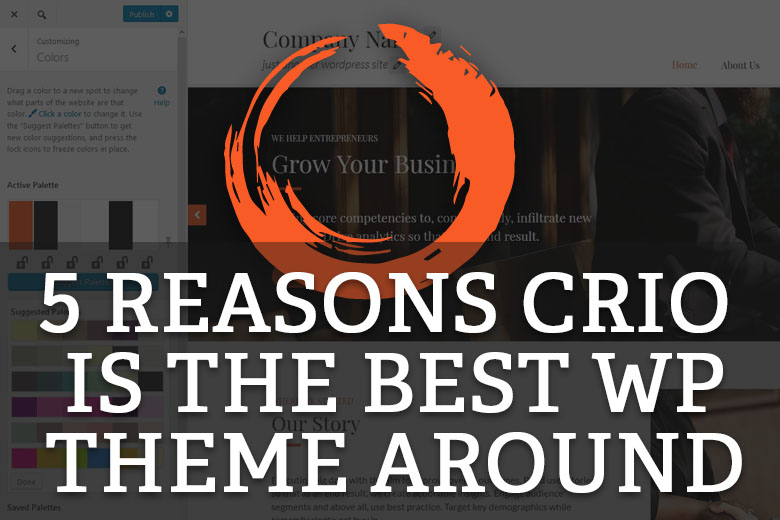 Crio is one of the best WordPress themes around